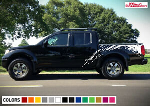 Decal Sticker Vinyl Graphic Side Bed Mud Splash Kit For Nissan Frontier 04 15