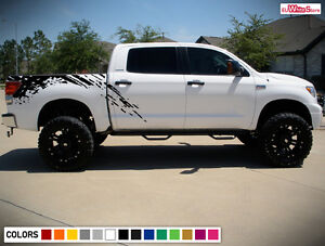 Decal Sticker Graphic Side Bed Mud Splash Kit For Toyota Tundra 2007 2017 Grille