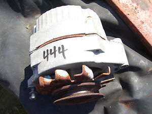 Vintage Massey Harris 444 Std Tractor 12 V Delco Alternator Pulley 1957