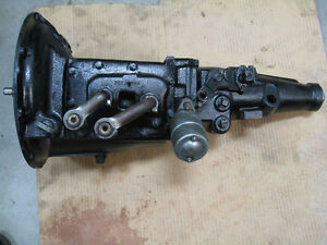 Mercury 1950 3 Speed Overdrive Transmission Exchange by Traco