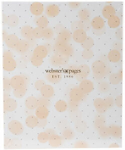 Webster s Pages Color Crush A5 Faux Leather 6 ring Planner Binder 7 5 x10 mint
