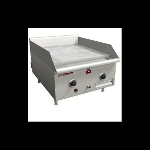 Griddle Gas Flat Top Grill Manual 18 Inch Counter Top Southbend Hdg 18m