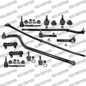 Steering Rebuild Kit Front Ends Tie Rods Ball Joints For 4wd Dodge Ram 1500
