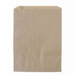 White Flat Paper Merchandise Bags 6 1 4 X 9 1 4 Case Of 1000 82251
