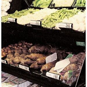 Marco Produce Display Baskets With Drainage Holes 14 l X 20 d X 3 1 4 h 60474