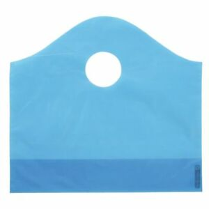 Blue Plastic Shopping Bags Small Case Of 250 71535