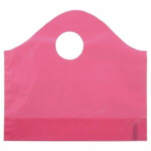 Sizzling Pink Plastic Shopping Bags Small Case Of 250 75593