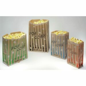 Popcorn Bags Have A 132 Oz Capacity 65163