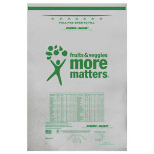 Biodegradable Plastic Bags Roll Style Printed Nutritional Information 60965