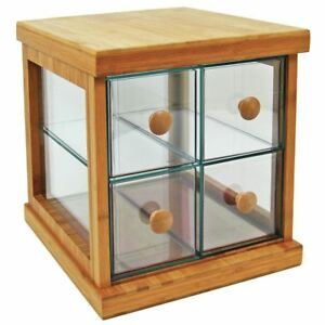 4 drawer Bakery Case With Bamboo Trim 95978