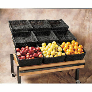 Green Step Up Produce Tray 16 l X 33 w X 5 h 35242