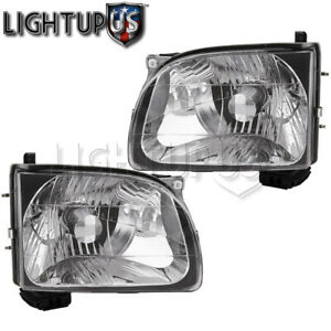 2001 2004 Toyota Tacoma Pickup Left Right Sides Pair Headlights Headlamps