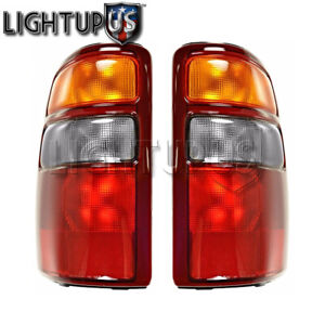 Left Right Side Pair Tail Lights For 2000 2003 Chevy Suburban Tahoe Gmc Yukon