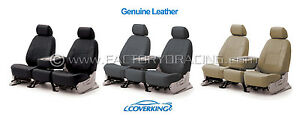 Coverking Genuine Leather Custom Seat Covers For 14 16 Mazda 3