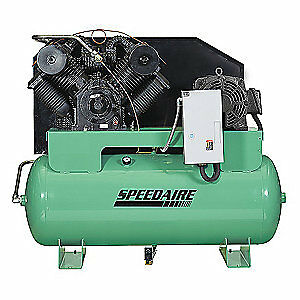 Speedaire Elec Air Compressor 2 Stage 25hp 84cfm 35wc72