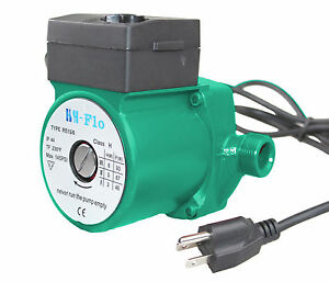 Hsh flo 3 4 Bsp 115vac 60hz Cast Iron Hot Water Circulator circulation Pump