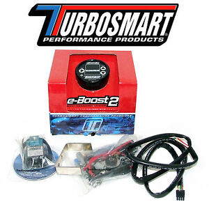 Turbosmart Eboost2 Ebc Electronic Turbo Boost Controller With 60mm Gauge Black