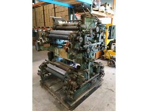 27 Four Color Flexographic Printing Press