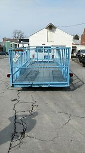Trailer Great For Lanscapers Movers Holds Vehicles And Farm Use