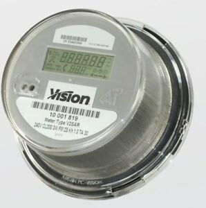 New Vison Metering Kwh Meter Form 2s 1phase 3 Wire 240v No Radio