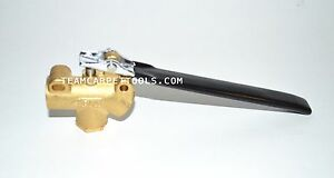 Carpet Cleaning 1 4 Dam Brass Angle Valve 1250 Psi For Truckmount portable Wand