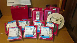 Fire Alarm Lot Of 17 Pieces New Used