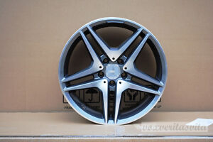 18 Amg Style Wheels Rims Fits Mercedes Benz W204 C Class C300 C250 C350 4matic