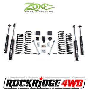 Zone Offroad 3 Suspension System Lift Jeep Wrangler Jk 2 Door 07 18 W Nitro