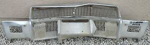 X Buick Riviera New Triple Plated Chrome Front Bumper 1970 70 Oem