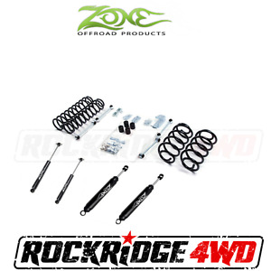 Zone Offroad 3 Suspension Lift Kit Jeep Wrangler Tj Lj 03 06 W Nitro Shocks
