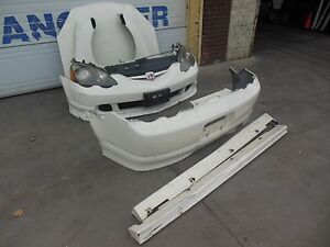 Jdm Acura Rsx Type R Front End Dc5 Front Bumper Type R Hid Headlights Hood Lip