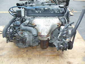 98 02 Honda Accord 2 3l Engine At Transmission F23a Engine Accord 2 3l At