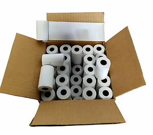 100 Rolls 2 1 4 X 50 Thermal For Verifone Vx520 First Data Fd400 nurit 8000