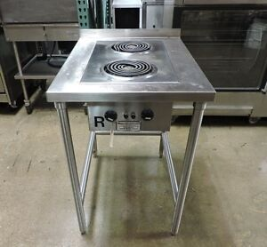 Toastmaster 1183 Commercial 2 Burner Electric Hot Plate