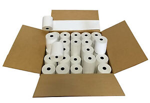 Thermal Cash Register Pos Paper Rolls 3 1 8 X 230 Made In Usa 100 Rolls