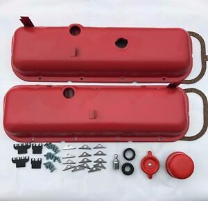 65 72 Chevrolet Orange Valve Covers Bbc 396 427 454 Drippers Kit 40 Piece Kit