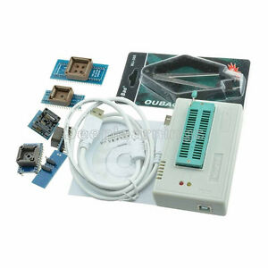 Tl866cs Programmer Usb Eprom Flash Bios 6 Adapters Socket Extractor For 13000