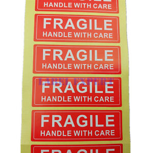 Fragile Handle With Care Stickers Label Easy Peel And Apply Lowest Price 1 X 3