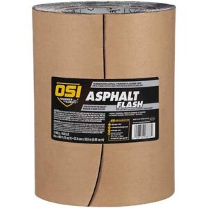 Osi Asphalt Flash Rubberized Asphalt Window Flashing Tape 9 In 4 Rolls P