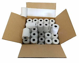 100 Rolls First Data Fd400 Thermal Paper 2 1 4 X 70