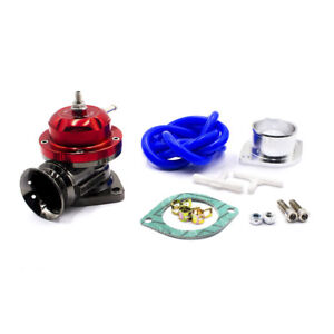 Universal Red Type Rs Turbo Blow Off Valve Adjustable 25psi Bov Blow Dump