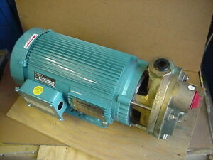 New Mth Bronze Turbine Pump T51m Ab 7 5hp 3ph Motor Burks Boiler Hvac