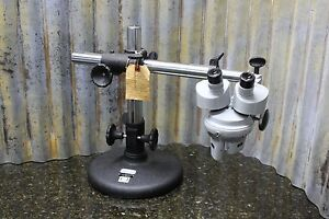 Vintage American Optical Stereo Microscope Base Great Decor Or Collector Piece
