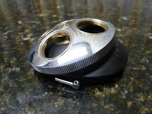 Wild Heerbrugg Microscope Nosepiece Turret 4 Objective Free Shipping Included