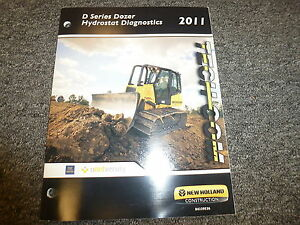 New Holland D Series Dozer Hydrostat Diagnostics Service Repair Training Manual