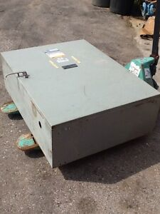 Detroit Diesel Automatic Transfer Switch 400 Amp 3 Phase 480 Vac