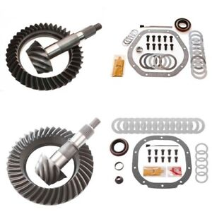 4 88 Ring And Pinion Gears Install Kit Package Dana 44 Rev Front 8 8 Rear