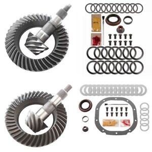 4 56 Ring And Pinion Gears Install Kit Package Ford 8 8 Ifs Front 8 8 Rear