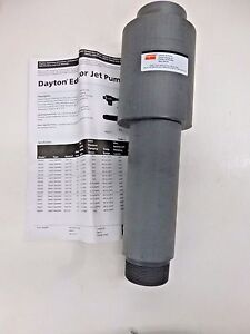 New Dayton Liquid Operated Pvc Jet Pump 5nau6