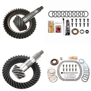 4 56 Ring And Pinion Gears Install Kit Package Dana 30 Rev Front 8 25 Rear